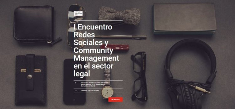 I Encuentro sobre Redes Sociales y Community Management Legal