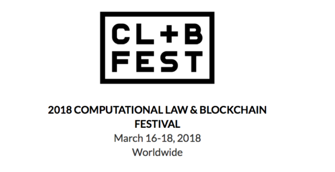 Computational Law + Blockchain Festival 2018 – Legal Hackers Madrid